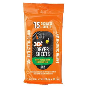 Ddw Dryer Sheets E1 3d+ - 15 Count