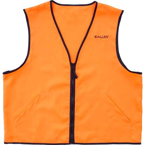 Allen Deluxe Hunting Vest - Orange X-large 2 Front Pockets