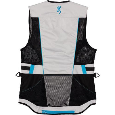 Bg Ace Shooting Vest Women's - X-large Teal For Her