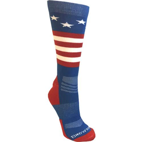 Bg Unisex Stars & Stripes - Socks M-l Red White And Blue