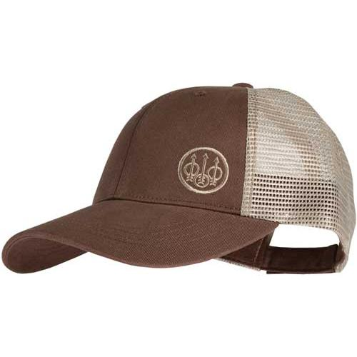 Beretta Cap Trucker W-offset - Logo Cotton Mesh Back Od Green