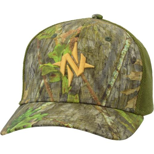 Nomad N Mark Camo Stretch - Trucker Hat Mo Obsession M-l