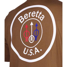 Load image into Gallery viewer, Beretta T-shirt Usa Logo - 3x-large Brown