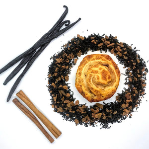 Cinnamon Black Tea with Cinnamon and Vanilla Bean by Lamie Wellness Tea Co