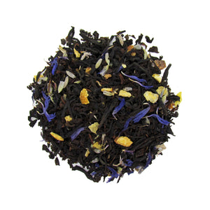 Earl Grey Organic Loose Leaf Tea with Vanilla Bean, Lavender and Orange Peel