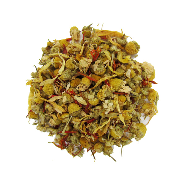 Organic Chamomile Loose Leaf Tea | Herbal Tea for Relaxing and Sleeping