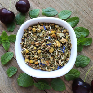 Sleeping Bear Herbal Sleepy Tea with Chamomile and Cherry