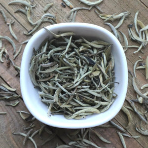 Organic White Tea Silver Needle White Tea by Lamie Wellness Tea Co