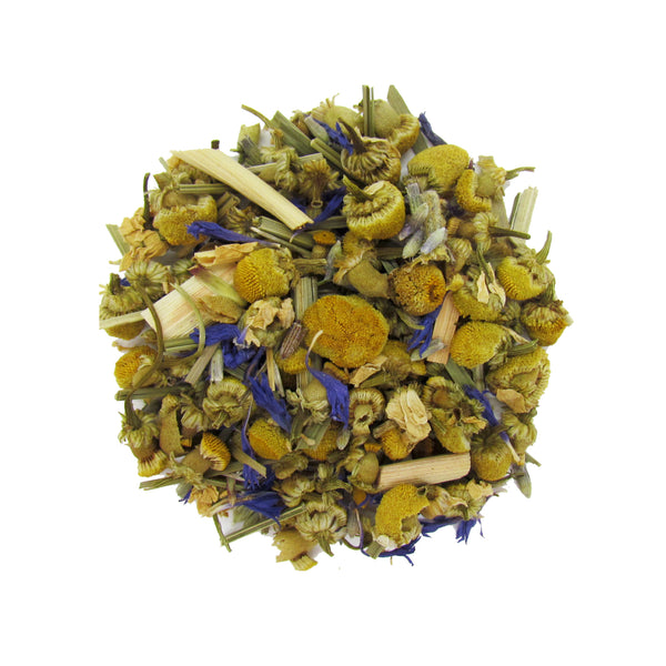 Lights Out Lavender Relaxing Herbal Sleep Tea with Organic Lavender and Lemongrass