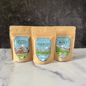 National Park Green Tea Collection | Handcrafted Loose Leaf Tea Inspired by Some of the Best US National Park