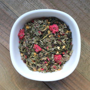 Raspberry Green Organic Green Tea by Lamie Wellness Tea Co