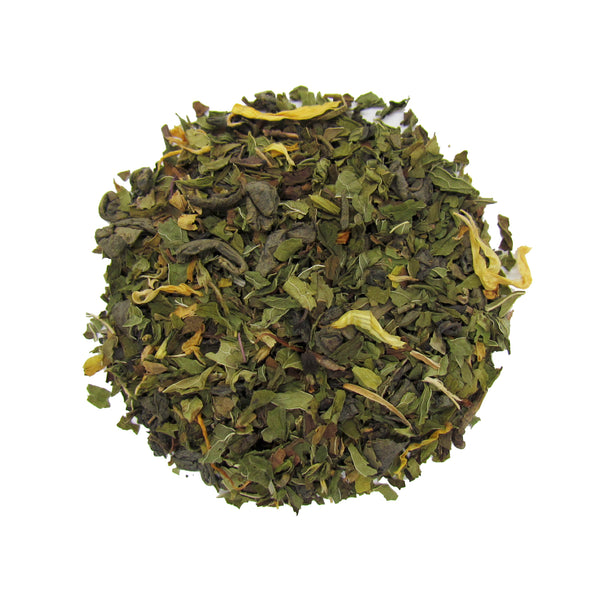 Rocky Mountain Mint Green Tea with Organic Spearmint and Peppermint Leaf