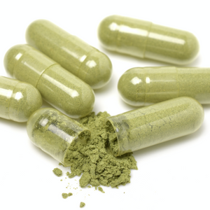 Daily Wellness Capsules with Organic Herbs and Organic Matcha Powder | Daily Herbal Supplement