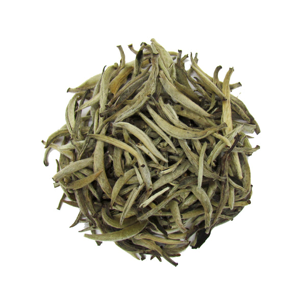 Silver Needle White Tea from Fujian, China | Rare and Organic White Tea Needles