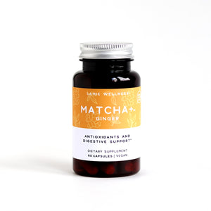 Matcha + Ginger Green Tea Capsules