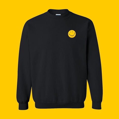 BADLQQK ACID HOUSE CREW SWEATER