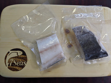 Seven Seas - Sablefish (Black Cod) Fillets - Skin on