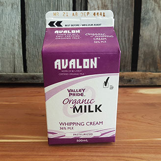 Avalon Whipping Cream