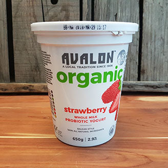 Avalon Strawberry Yogurt - 2.6% MF