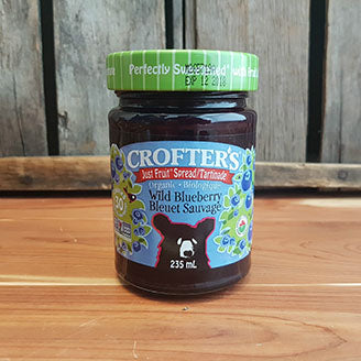 Crofter's - Fruit Juice Sweetened Blueberry Spread