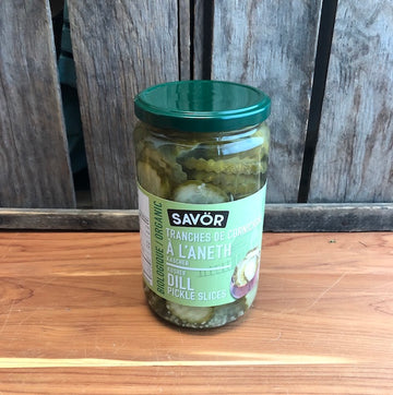 Savor - Pickles - Sliced Dill