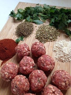 Serben's - Pork Meatballs - Hot Italian