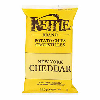 Kettle - New York Cheddar Chips