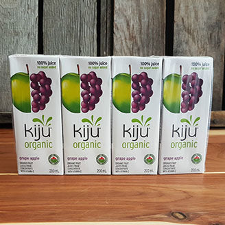 Kiju - Juice Boxes - Grape Apple Juice