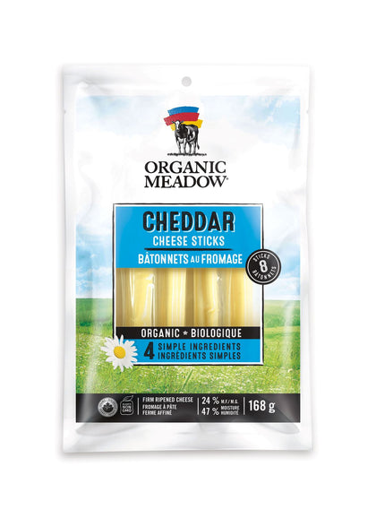 Organic Meadow - Cheese Sticks - Mild Cheddar