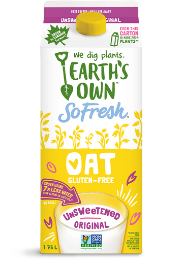 Earth's Own - So Fresh - Oat Milk - Unsweetened