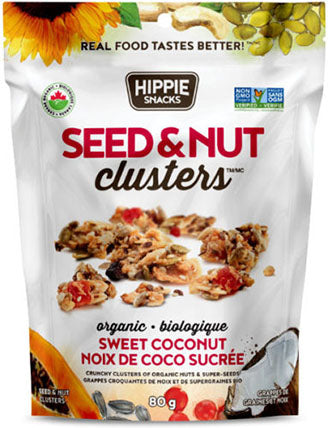 Hippie Snacks - Seed & Nut Clusters - Sweet Coconut
