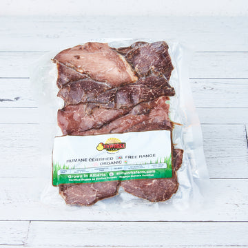 Sunworks - Montreal Smoked Grass Fed Beef, Sliced