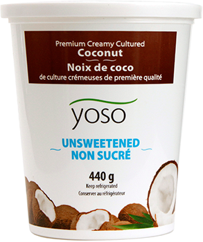 Yoso - Dairy Free Yogurt - Coconut Milk, Unsweetened