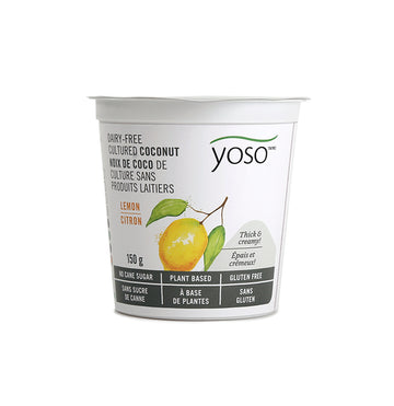 Yoso - Coconut Yogurt - Lemon