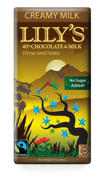 Lily's Sweets - Stevia Sweetened Chocolaty Candy Bar - Milk
