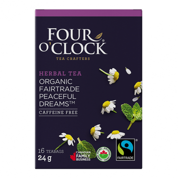 Four O'Clock - Herbal Tea - Peaceful Dreams