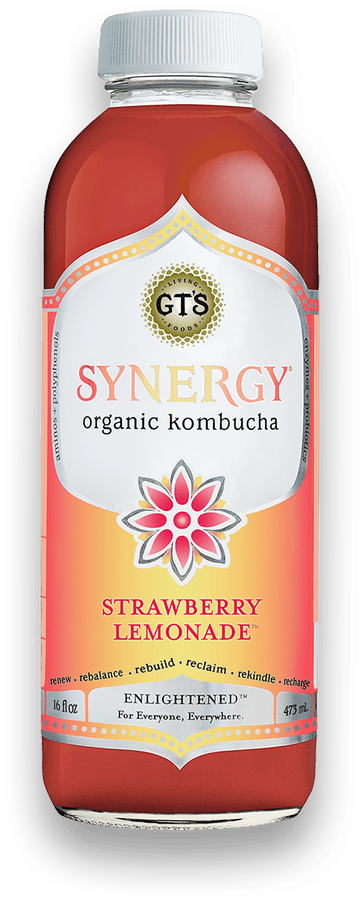 GT's - Kombucha - Strawberry Lemonade
