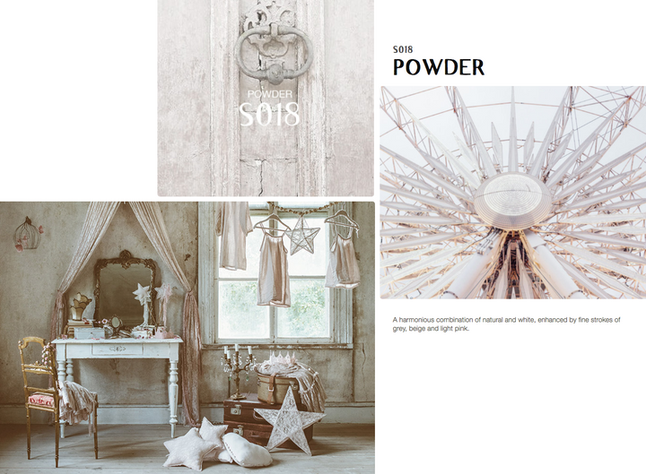 Colour inspiration POWDER