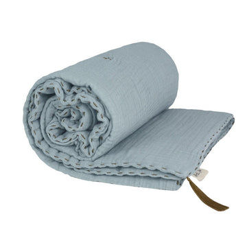 Numero 74 Cot Winter Blanket - Sweet Blue