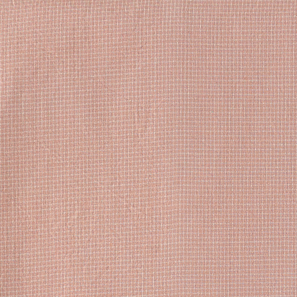 Cot Fitted Sheet- Mini check Coral