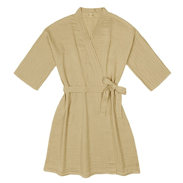Poeme lifestyle sells earthy cotton kimono by Numero 74 online in Australia. Handcrafted and traditionally dyed.