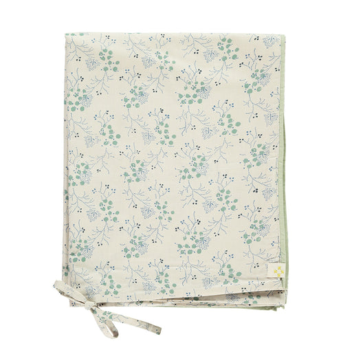Single Quilt Cover in Floral Blue | Camomile London - Poeme Lifestyle