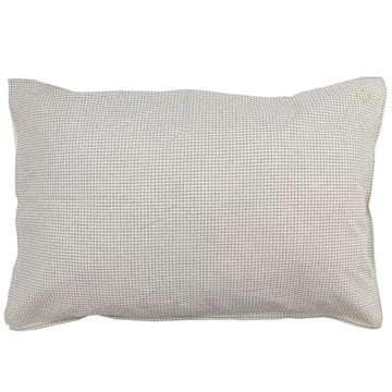 Standard Pillowcase - Double Check Grey