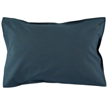 Organic Standard Pillowcase - Midnight Blue