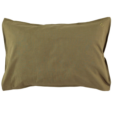 Organic Standard Pillowcase - Olive