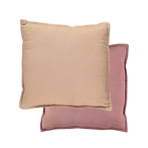Small Cushion - Peach Blossom / Blush Reversible
