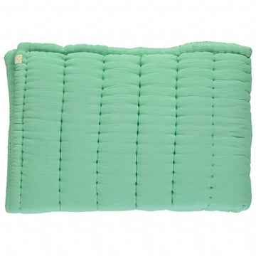 Cot Hand Quilted Blanket - Arsenic