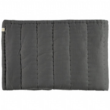 Cot Hand Quilted Blanket - Slate