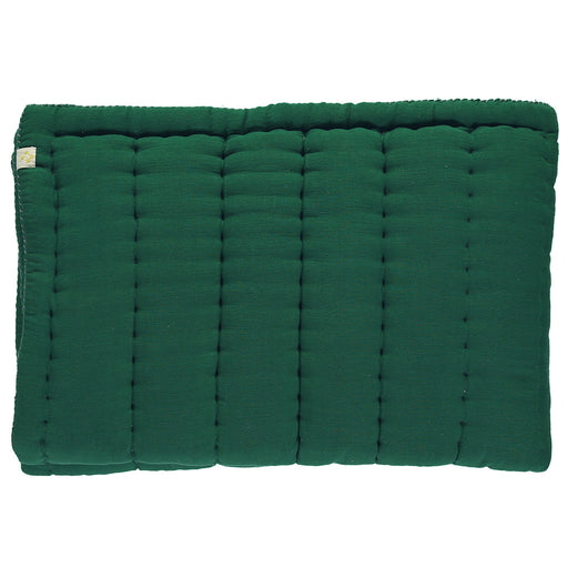 Narrow Single Hand Quilted Blanket - Forest