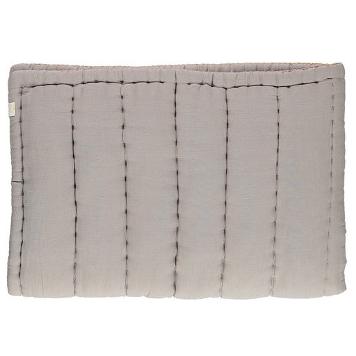 Single Hand Quilted Blanket - Smoke Grey